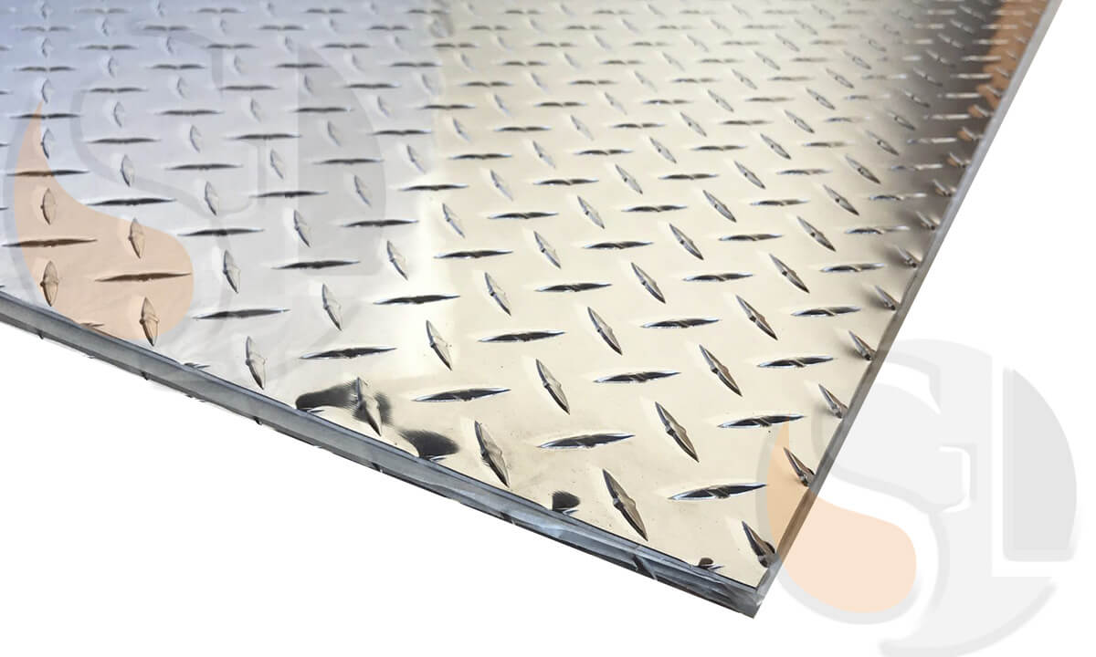 Placa Antiderrapante Alumínio